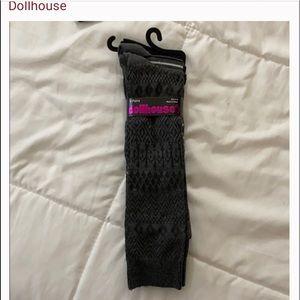 Dollhouse boot socks